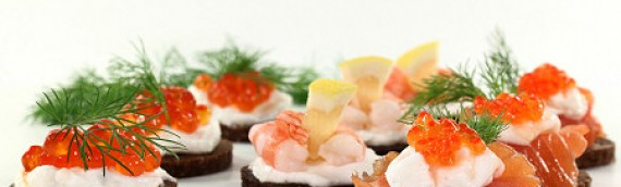 Canapés with Champagne Bay