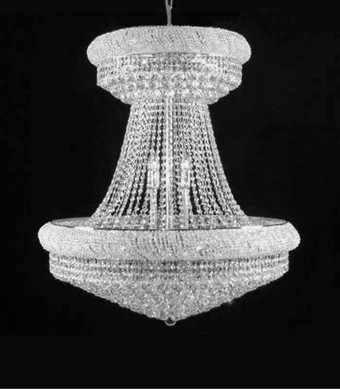 Chandeliers with swarovski crystals custom designed to suit your home aloadofball Gallery