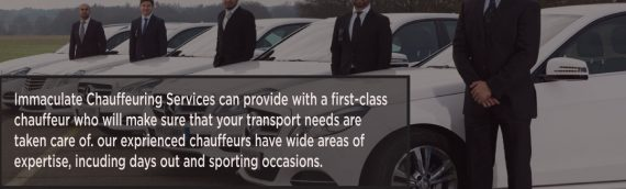 Immaculate Chauffeuring Service with a High Class Private Chauffeur