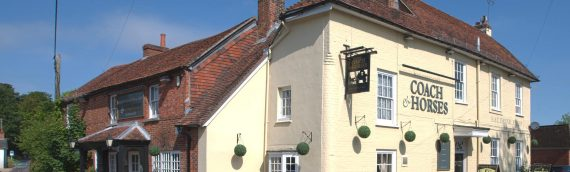 Coach & Horses Sutton Scotney.  A traditional, warm and inviting pub where everyone is welcome.