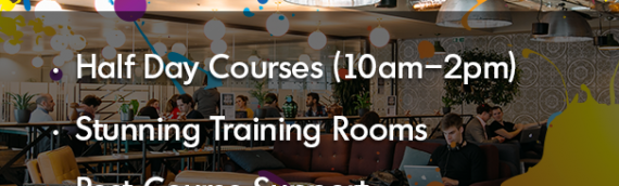 1/2 day workshops in London – Book Now !
