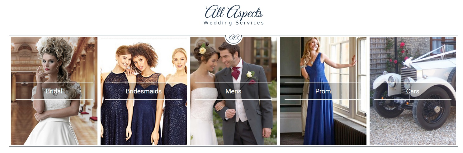 All Aspects Wedding Services The One Stop For Weddings Where Personal Service Is Guaranteed In This Warm And Friendly Family Run Business