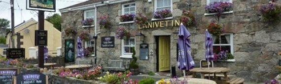 Beautifull surroundings, great food at the Lanivet Inn, Cornwall
