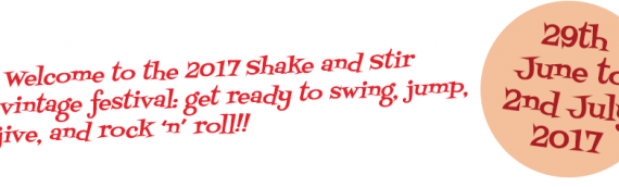 Last pitches available – The Original Shake & Stir Vintage Festival 29th June – 2nd July in Bournemouth – final date Friday 16th June!