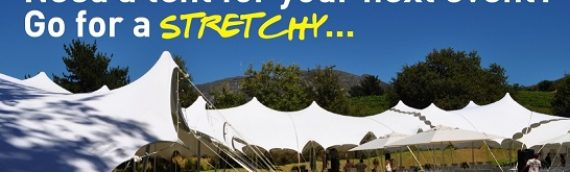 Give your event, party, celebration or venue a serious 'Xtra factor' with an impressive stretch tent