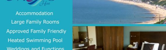 87 Room Hotel in Bournemouth with Stunning Sea Views and Outdoor Swimming Pool, Minutes from Bournemouth Pier