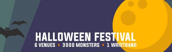 Tickets for Bournemouth's most anticipated Halloween Festival