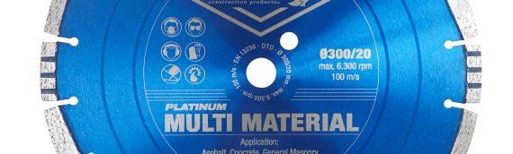 Cutting Disks – Platinum Multi Material Diamond Blade (350mm x 25mm Bore Disk)
