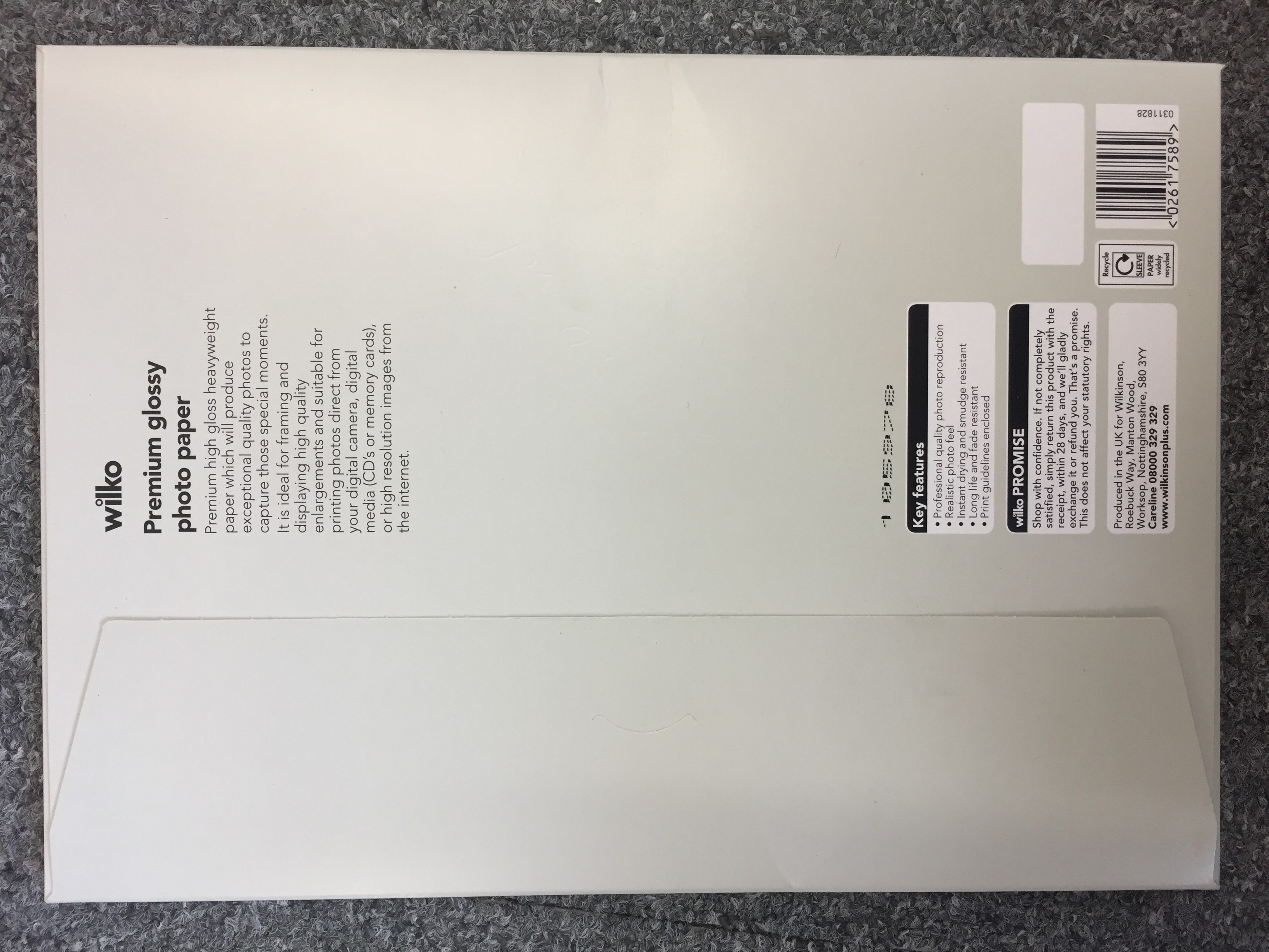 Premium Glossy Heavyweight Photo Paper now on BBX - 17 Boxes