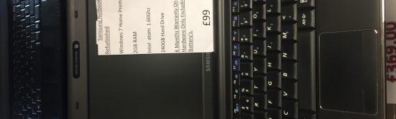 Samsung Netbooks (Refurbished)  5 available