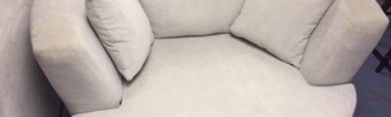 NEW Grey Swivel Chair