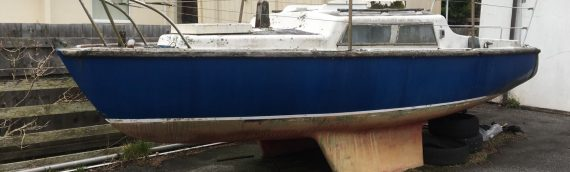 19ft Alacrity Sailing Boat – £750 – Ideal for first boat after a little love