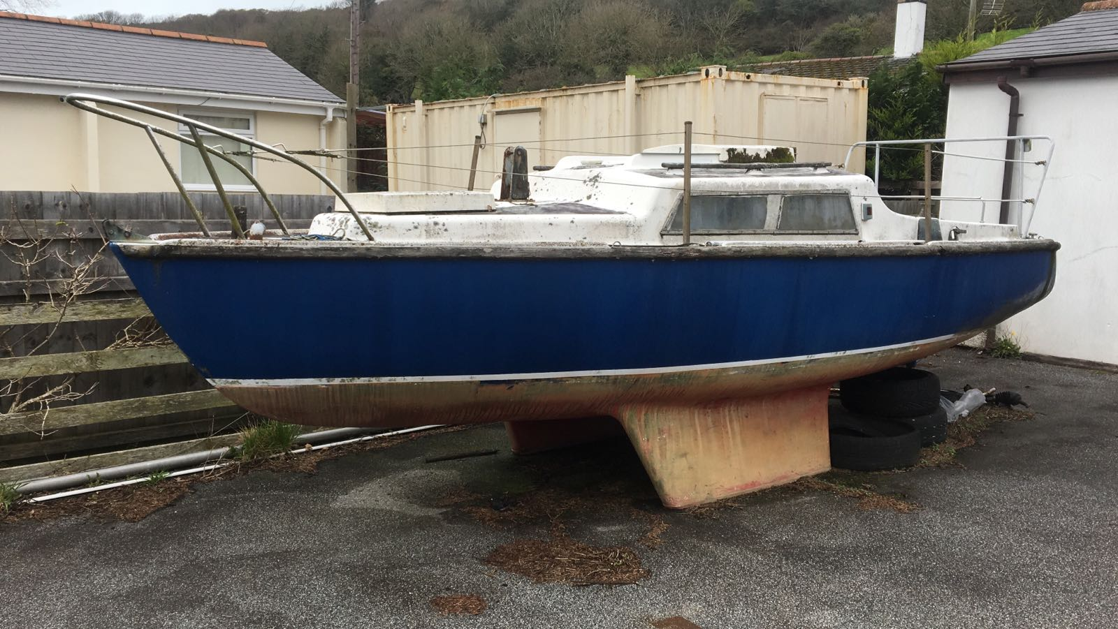 19ft Alacrity Sailing Boat - £750 - Ideal for first boat