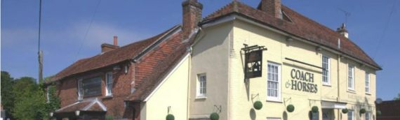 Book your Valentines meal now at the Coach & Horses in Sutton Scotney