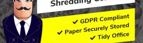 If you are a busy office and generate regular volume of confidential paperwork, we offer secure and lockable shredding consoles compliant with GDPR