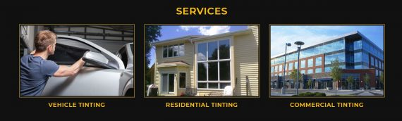 Automotive, Residential and Commercial Window Tinting available