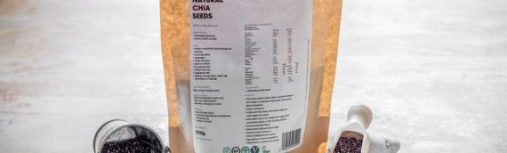 Healthy and Nutritious Natural Chia Seeds