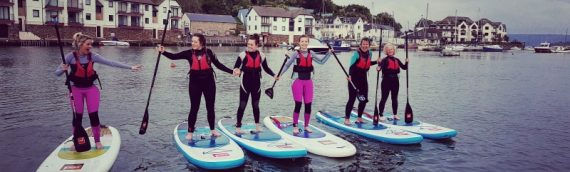 Stand-up Paddle-Surfing in Salcombe – great for team-building, fitness or simply fun!