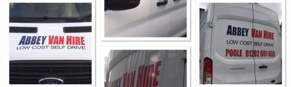 Vehicle Signage in Poole by Vivid Dinamix