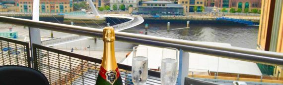 Luxury Serviced Accommodation in Newcastle – 2 Bed Balcony Apartment looking over the Millennium Bridge