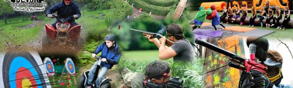 Devon Country Pursuits – Fantastic adventures await! Paintball, Quad-bikes, Archery and MUCH more…