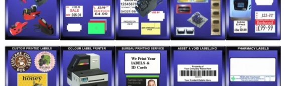 Labels & Labelling Systems from Print On Labels – Direct Thermal, Barcode, Thermal Transfer, Label Software, Price Guns, Label Bureau etc.