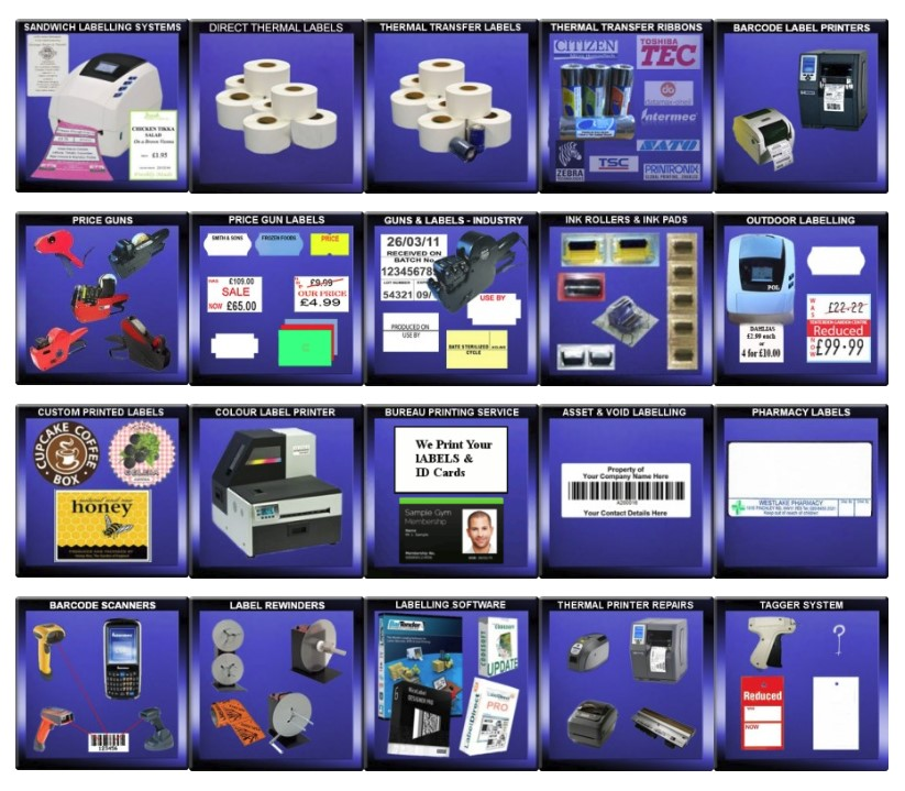 Labels & Labelling Systems from Print On Labels – Direct