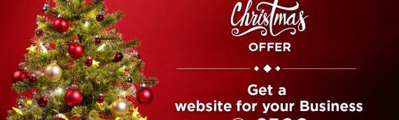 Merry Christmas Offer, Get Full Responsive website in £500