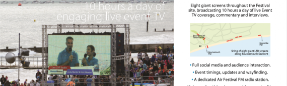 Fonix – LED Screen Hire Bournemouth Air Show 2019