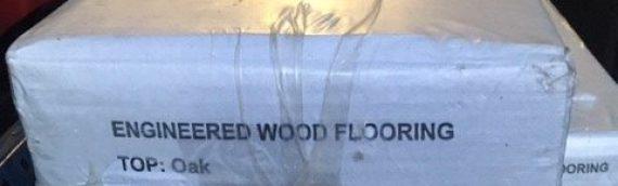 4 x Packs of Dark Oak Laminate Flooring