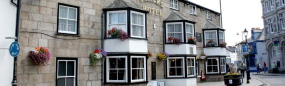 Tyacks Hotel, located in the heart of Cornwall in Camborne