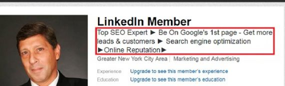 Optimise your LinkedIn Profile with BBX
