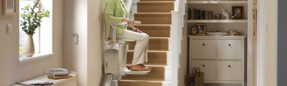 Stannah Stairlift Slim Siena 600 – £1000 BBX, Cost £2460