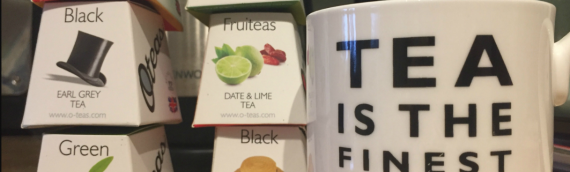 Attention fine tea drinkers! OTEA's available!