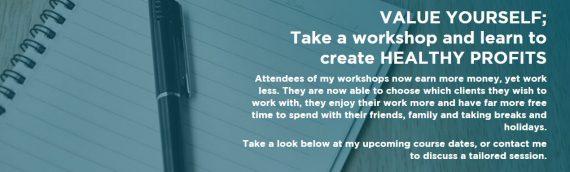 Healthy Profits Workshop, Events Hosting & Public Speaking