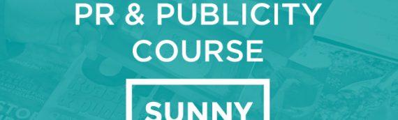 ONLINE Reaching Millions: PR & Publicity Course